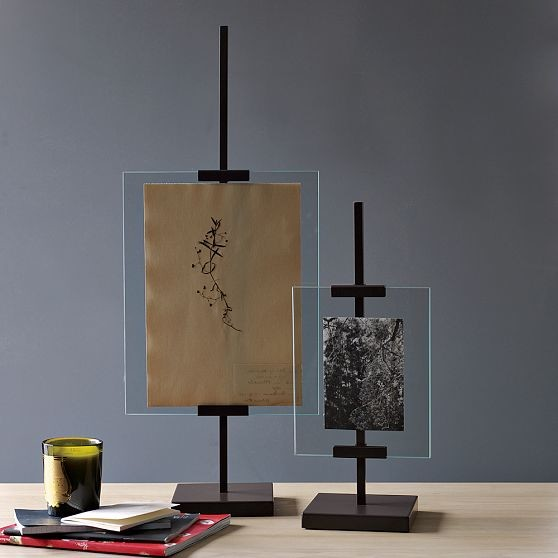 New Metal Easel Adjustable Floating Frames Modern