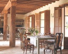 OLD SPANISH TERRACOTTA TILES it is DESIGN FLOOR in SPANISH STYLE mediterranean