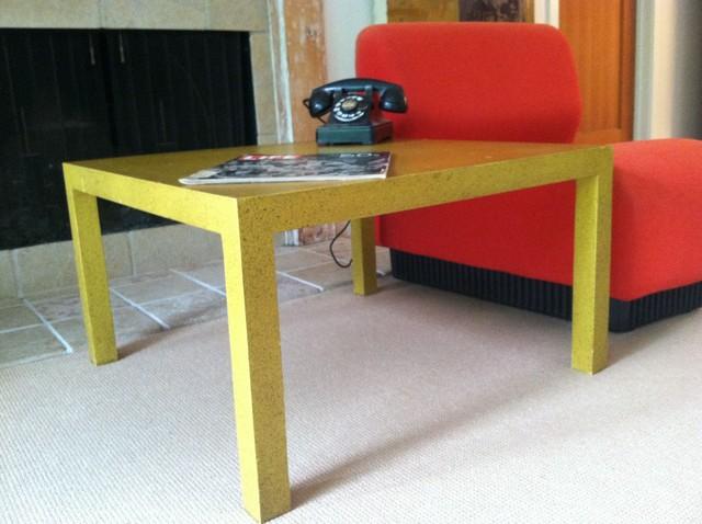 VIntage Parsons Coffee Table midcentury
