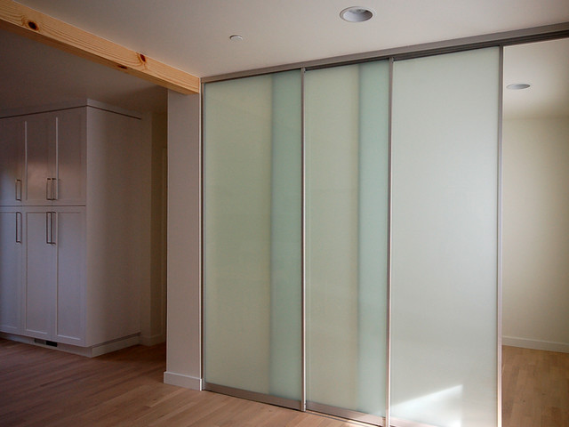 Sliding interior glass door system contemporary for Interior sliding glass doors