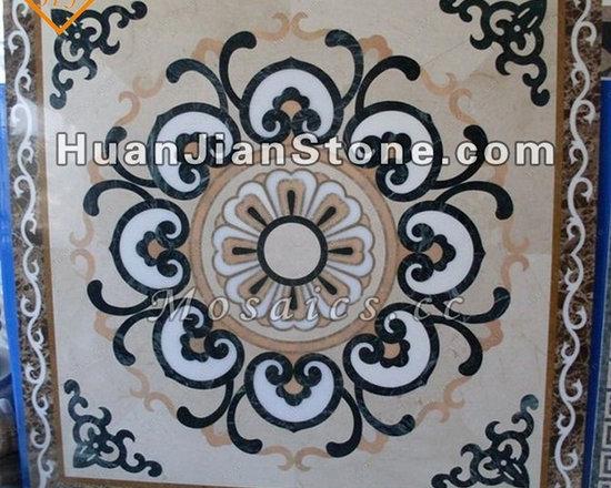 marble mosaic, table top, kitchen backsplash, flooring decoration - Inlay mosaic medallion for flooring decoration - Art design and decoration!!!