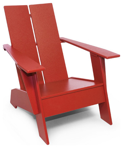 DIY Modern Adirondack Chair Design Plans Free