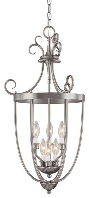 Entry Lantern Foyer 6-Light modern-chandeliers