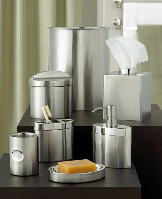 hotel collection executive stainless bath accessories