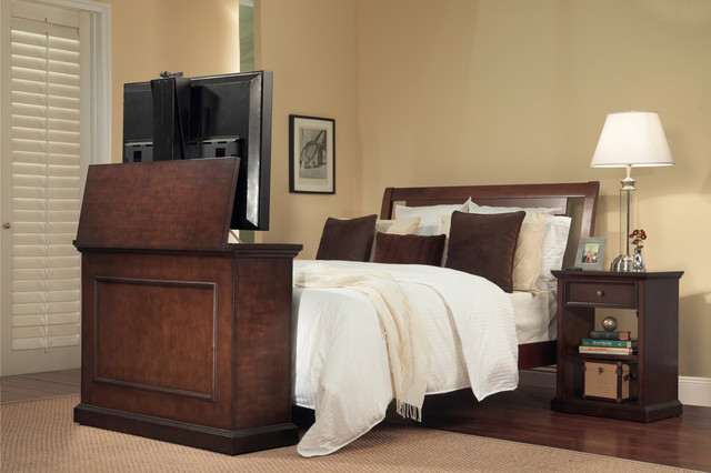 """Lift Cabinets for Flat Screen TV's Up To 42"""" traditional-entertainment ..."""