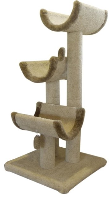 """51"""" Kitty Cat Jungle Gym traditional-pet-supplies"""