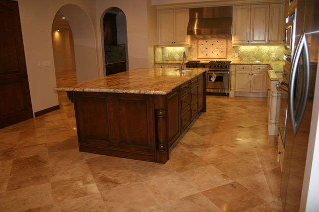 Tuscany gold travertine series rustic wall and floor for Tuscan flooring