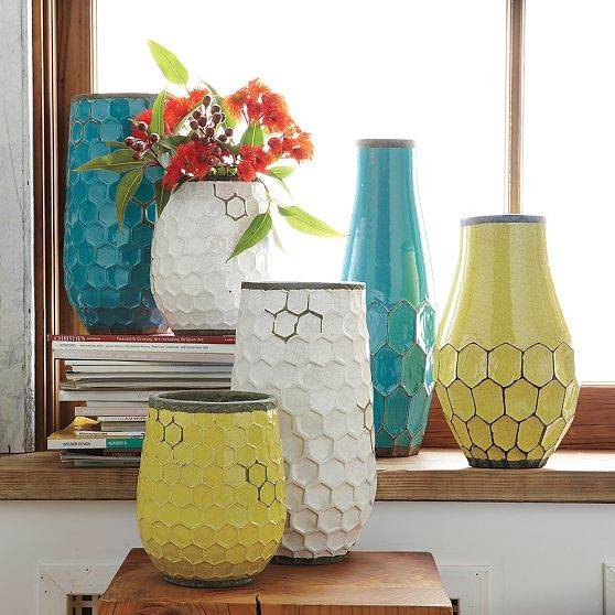 Hive Vases by West Elm  vases