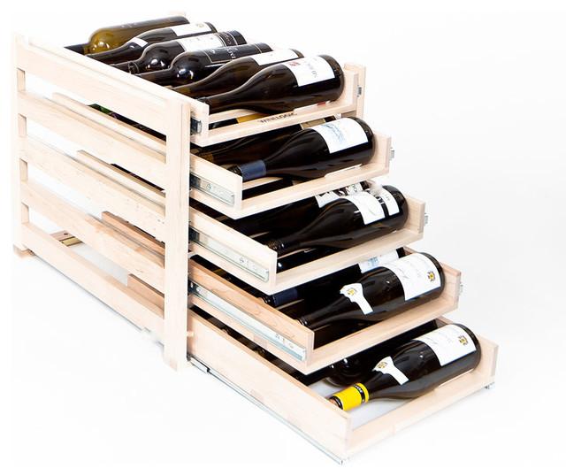 Winelogic wine rack bottle contemporary