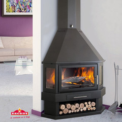 Bronpi Lorca-R Corner Wood Burning Stove | Lowest Discount Prices |...