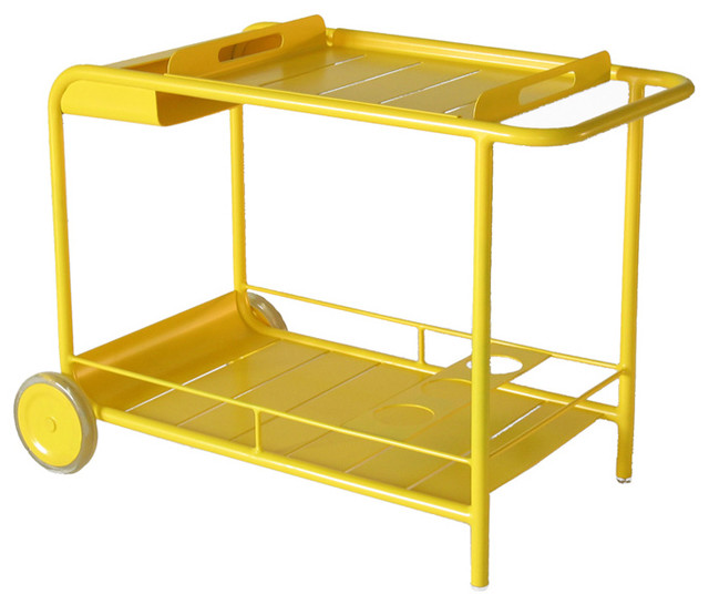 4164 Bar with Wheels by Fermob modern bar carts