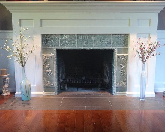 Fireplace Installation: Lover's Bridge -