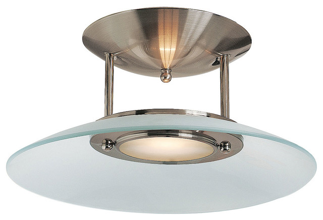 Argon semi flush mount modern flush mount ceiling for Semi flush mount lighting modern