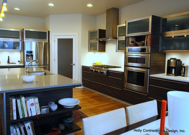 Perspective Residence contemporary-kitchen