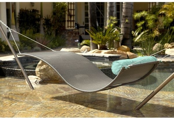 Outdoor Wicker Hammock contemporary-hammocks-and-swing-chairs