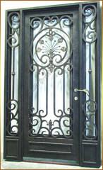 Wrought Iron Entrance Door - Bella Grande Entrances, BGE Las Vages