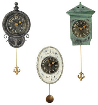 Mini Pendulum Clocks traditional-clocks