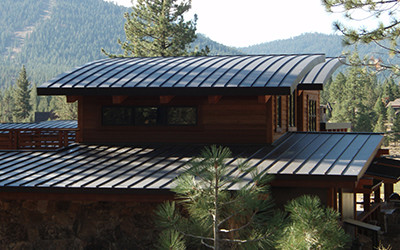 Metal roof metal roofing materials los angeles for Modern roofing materials