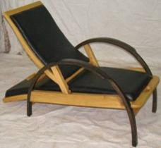 Bent wood chairs. contemporary-living-room-chairs