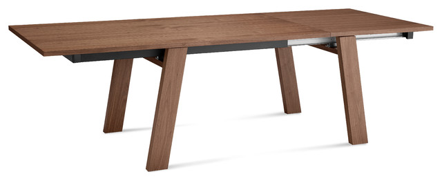 Must XL Rectangular Table Walnut Modern Dining Tables By Inmod