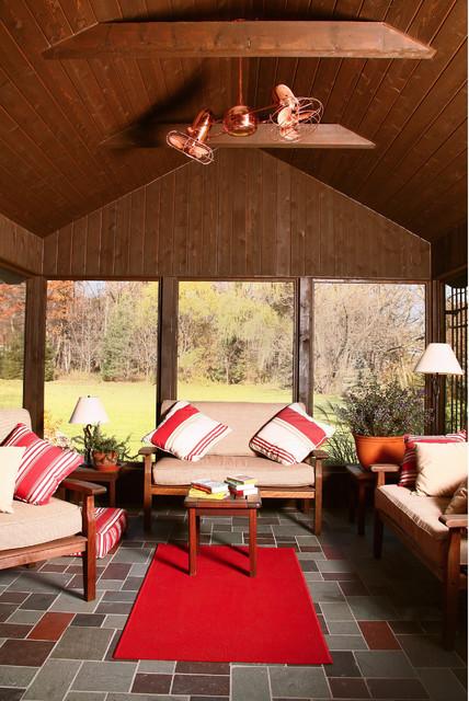 Matthews Fan Company DD-CP-MTL Duplo-Dinamico Copper Ceiling Fan rustic