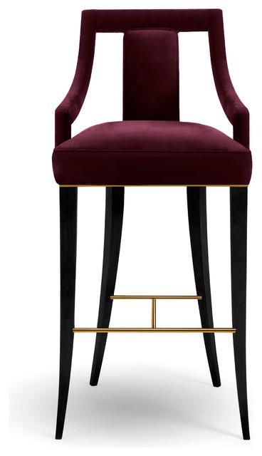 Eanda Bar Chair Contemporary Bar Stools And Counter