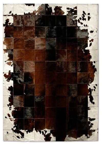 Park Corbu Cowhide Rug by Pure Rugs eclectic-carpet-flooring