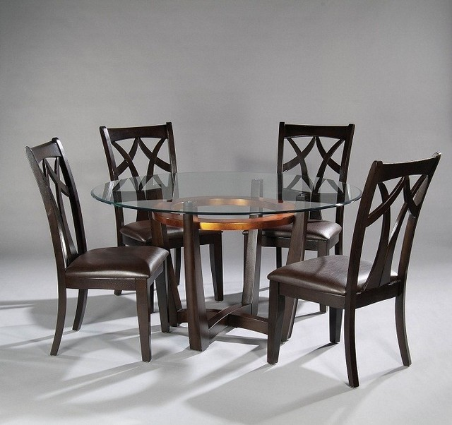 Bassett Dining Room Furniture: Elation Round Copper Ring Dining Table