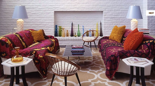 Parker palm springs eclectic - Palm springs interior design style ...