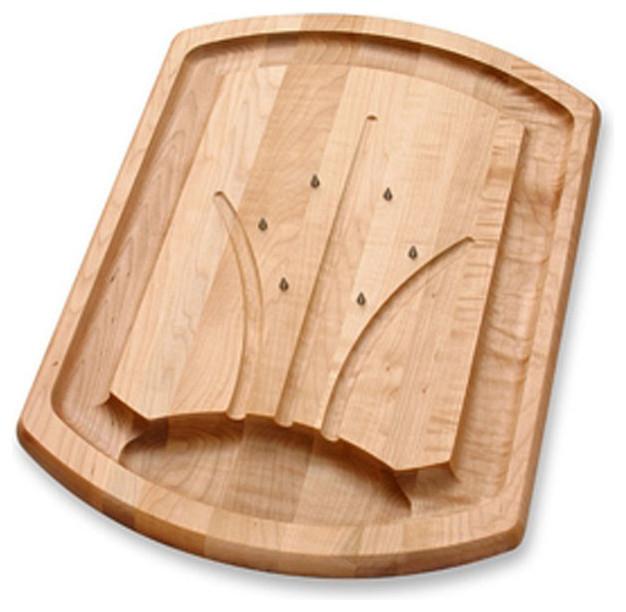 J k adams traditional meat spike carving board