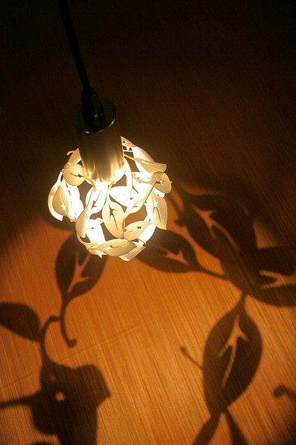 CP3d LED Printed Pendants - Blowing Leaves 2 contemporary-pendant-lighting