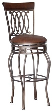 Hillsdale Montello 32 In Swivel Bar Stool Traditional