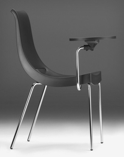 Modern Classroom Chairs : Chiacchiera quot polypropylene classroom chair modern