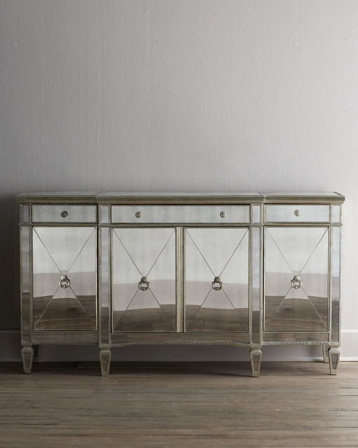 """""""Amelie"""" Mirrored Buffet/Console - Wall Mirrors - by Horchow"""
