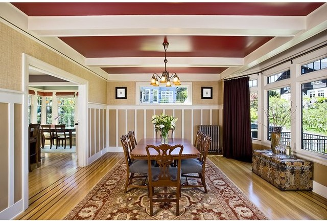 Roanoke Park Residence traditional-dining-room
