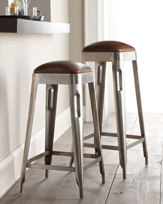 Industrial Dining Stool traditional-bar-stools-and-counter-stools
