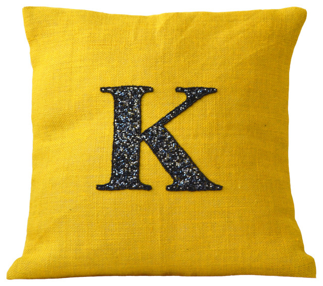Handmade throw pillows, bed covers, quilt, table linens contemporary-decorative-pillows
