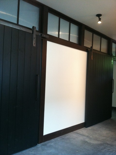 Cabinet Painting and Trim Staining On Queen Anne Hill Seattle contemporary