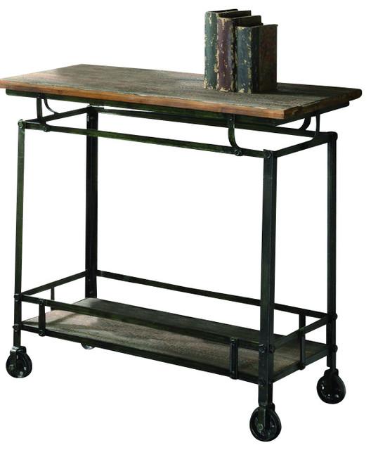 Crestview CVFZR456 Pressley Cart industrial-bar-carts