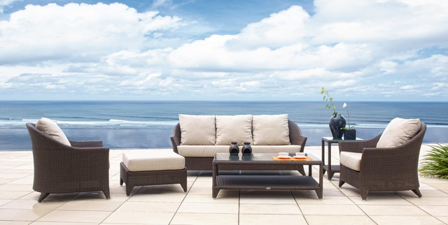 Malta Wicker Outdoor Seating Collection From Skyline Design Contemporary Patio Furniture And