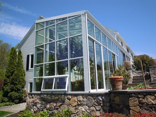 Mondern Sunroom Home Contemporary Greenhouses