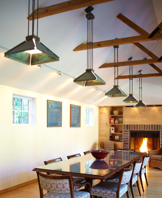 Conference Room - Eclectic - Pendant Lighting - chicago - by Brass Light Gallery