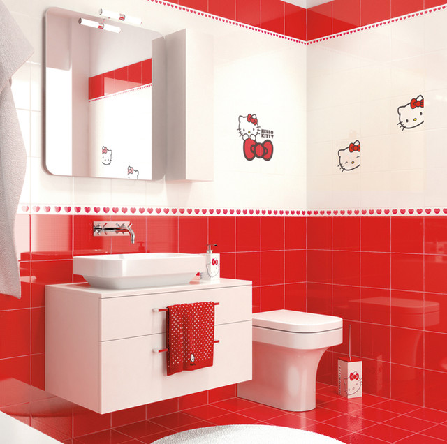 Hello Kitty Bathroom Decor Ideas : Hello kitty collection asian tile las vegas by