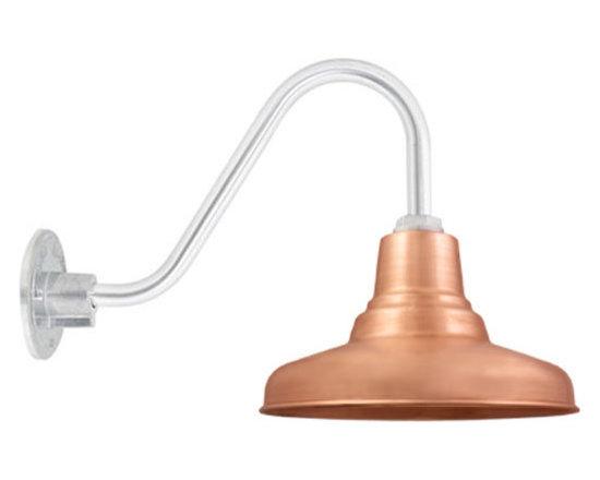 Universal Copper Gooseneck Light -