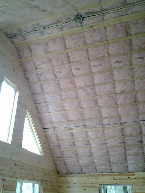 Cottage Cathedral Ceiling Which Way To Install Tongue in