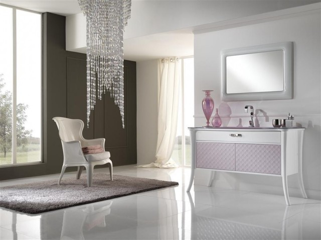 Italian Bathroom Vanities NEA Italia Model Amelie Modern
