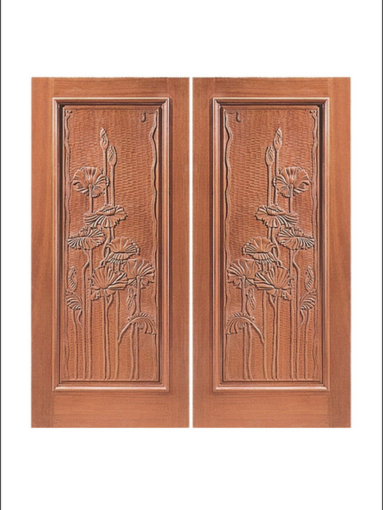 Carved and Mansion Entry Doors Model #  6 -