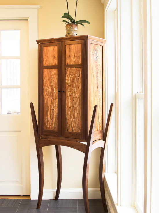 Luxury Artisan Display Cabinet | Vermont Woods Studios - Contact Vermont Woods Studios for details on how to order this piece of fine wood Vermont made furniture.