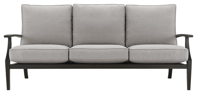 Stuart Outdoor Sofa With Cushions traditional-outdoor-pillows