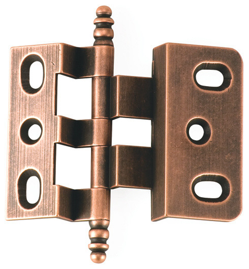 3-8-OFFSET-OC old copper offset cabinet hinge - Traditional - Hinges - philadelphia - by ...
